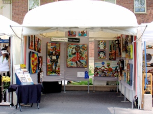 Villamagna booth at Central PA Festival of the Arts
