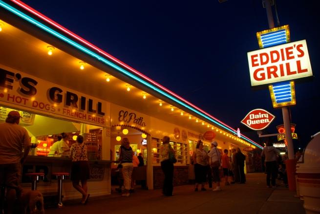 Eddie's Grill, Geneva on the Lake, Ohio.