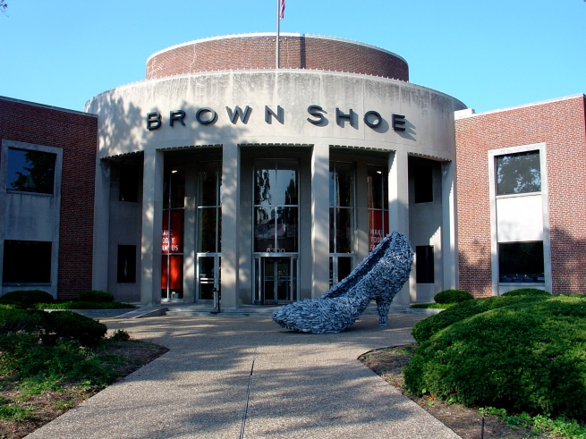The famous Brown Shoe Company.