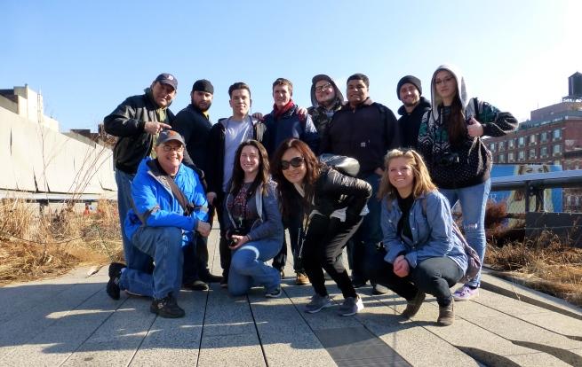 On the Highline!