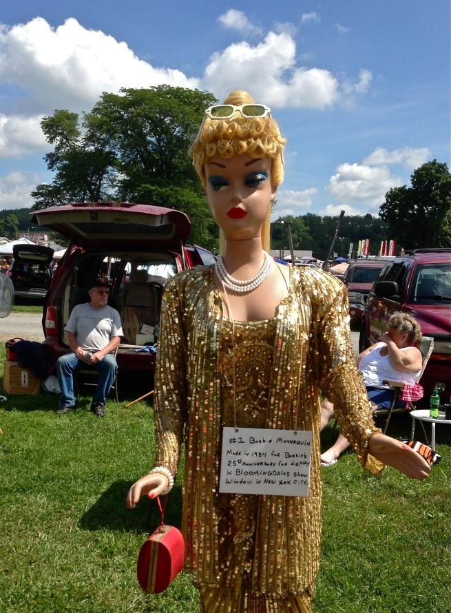 A life-size Barbie!